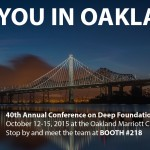 We're California Dreamin' – October 12-15, 2015 – Oakland, CA