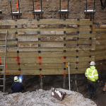 7″ Helical Pile Underpinning For A 100-Year-Old Community Center
