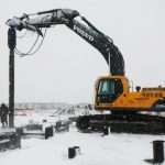 13.375″ Helical Pipe Piles For Western Canadas Largest Wind Project
