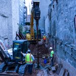NYC – 75 STELCOR Piles for 8-Story Cantilevered Condos